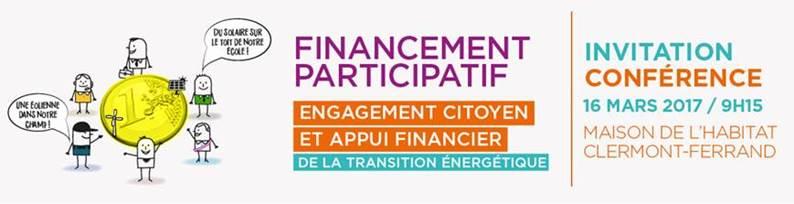 Conférence – Financement participatif – 16 mars 2017