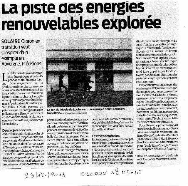 23/12/2013 / Sud-ouest