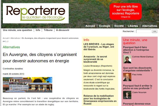 29 Octobre 2013/ Reporterre