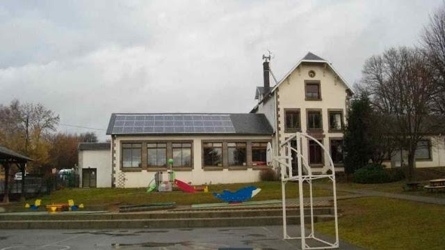 Ecole de Moulet-Marcenat (63650 - Volvic)