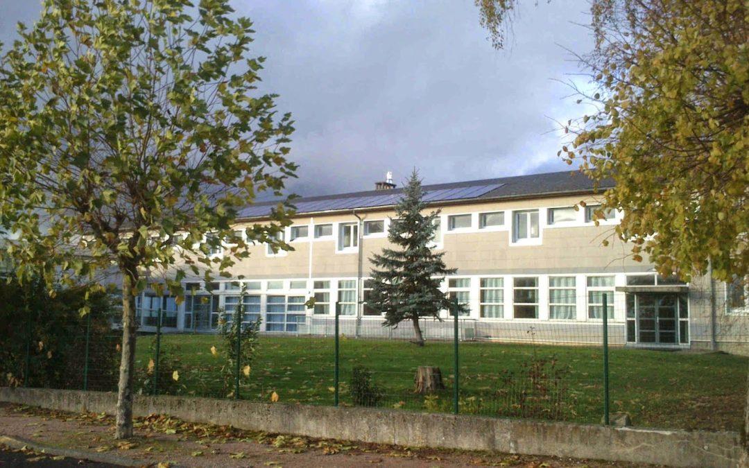 La production solaire sur le lycée agricole de St Gervais d'Auvergne