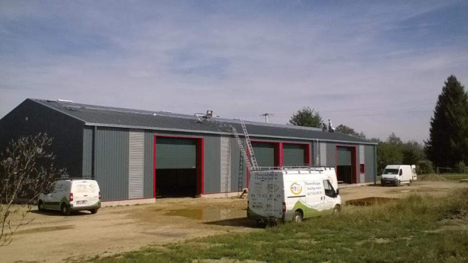 Hangar des services techniques de Loubeyrat