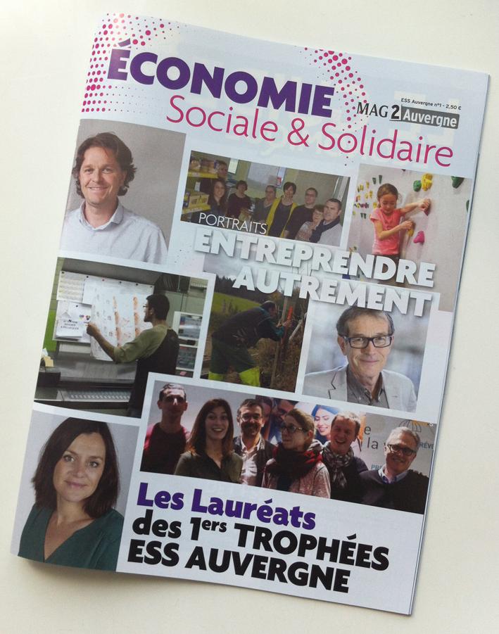 Avril 2017 Revue ESS Mag2 Auvergne n°1