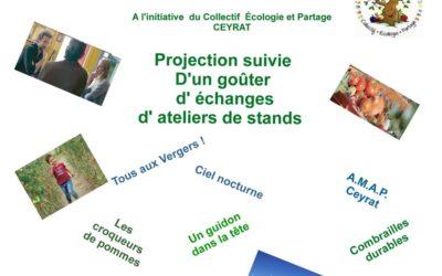 Projection du film «Après-demain» à Ceyrat le 3 février