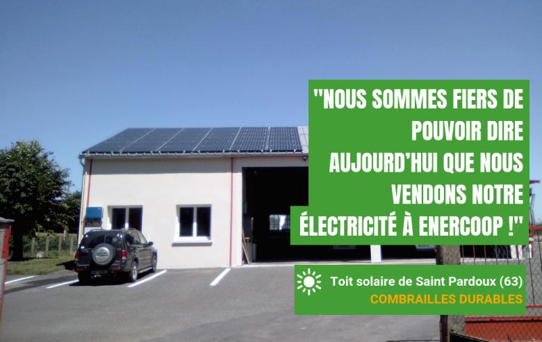 Fiers de vendre notre électricité à Enercoop !