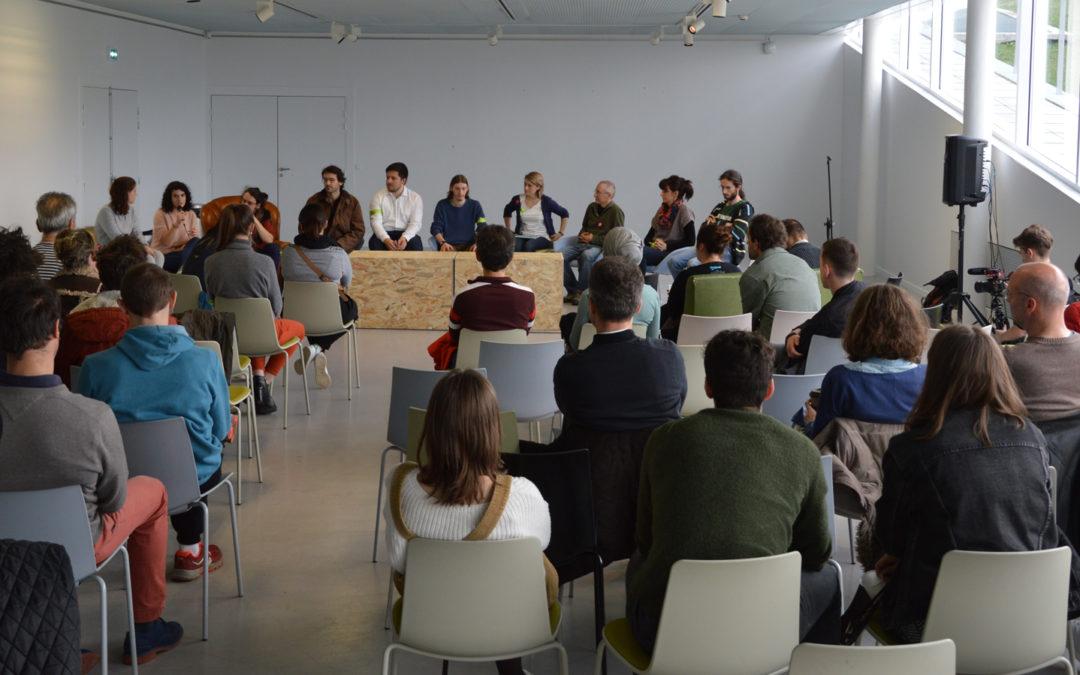 Combrailles Durables invitée à l'école d'architecture pour la grève du Climat