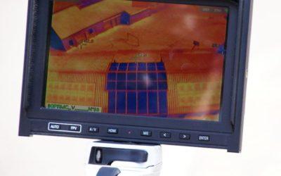 Analyse thermographique de 4 de nos centrales par drône
