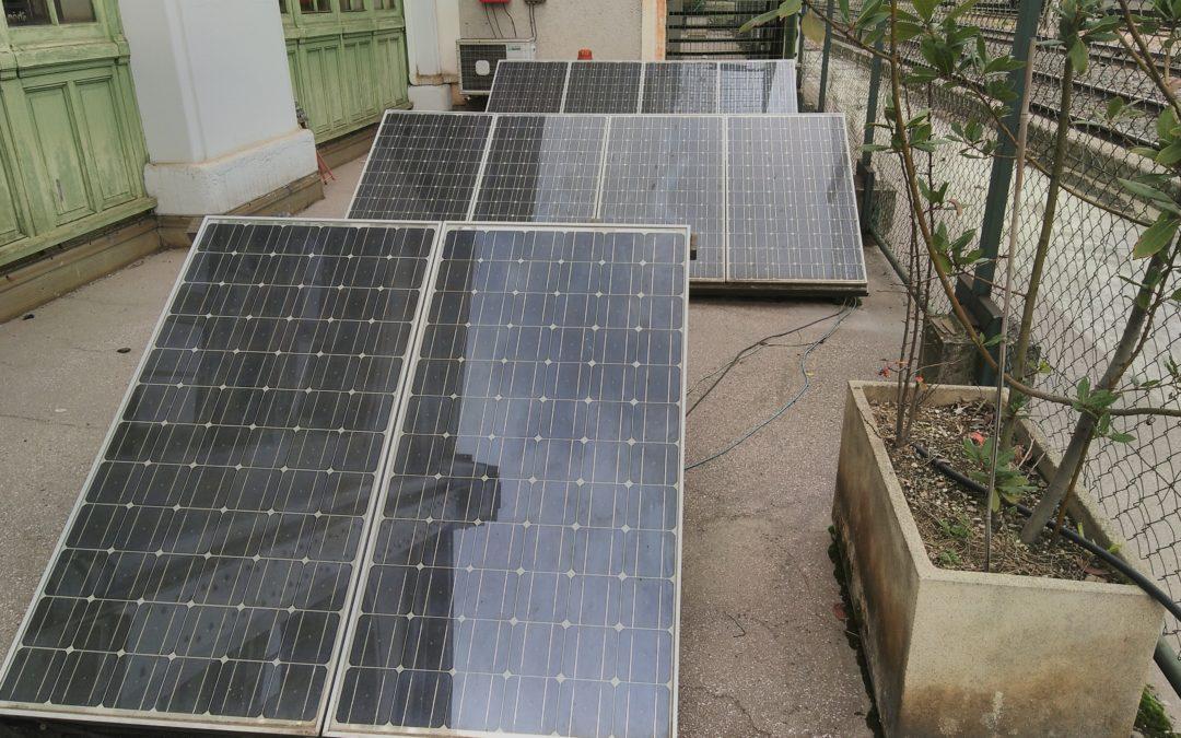 Étudiants ingénieurs : formation «autoconstruction de parc solaires» chez Hespul