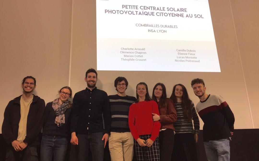 Classe verte pour les futurs ingénieurs : l'INSA à Loubeyrat