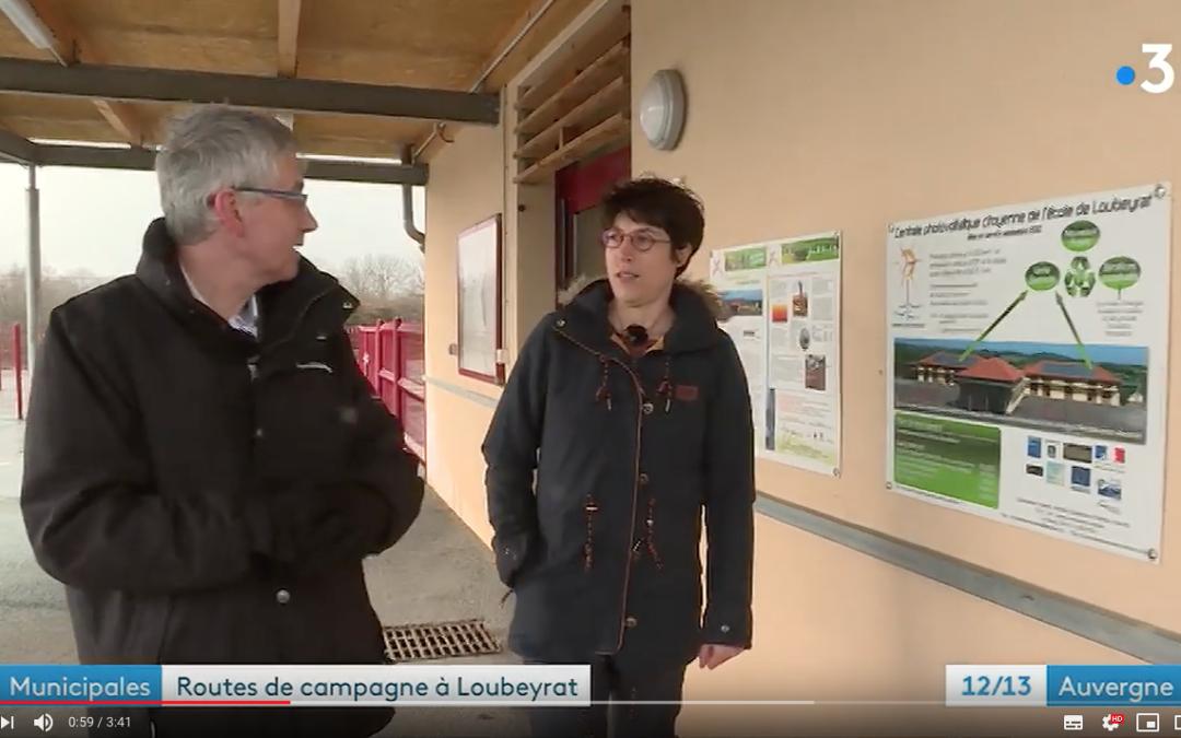 «Routes de campagne» fait étape à Loubeyrat pour un reportage sur Combrailles Durables