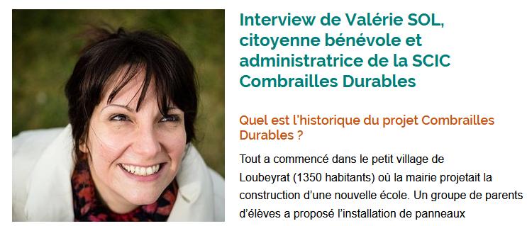 Interview donnée à Auvergne-Rhône-Alpes Énergie Environnement