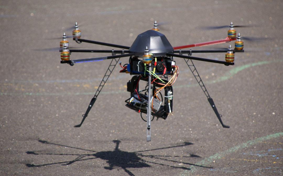 Quand un drone survole nos centrales…