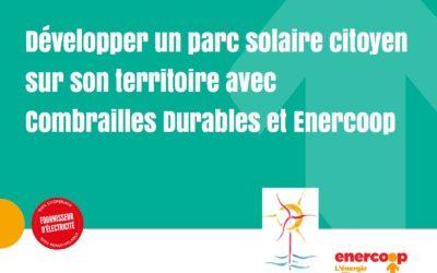 Projets photovoltaïques au sol : nos prospections avec Enercoop AuRA